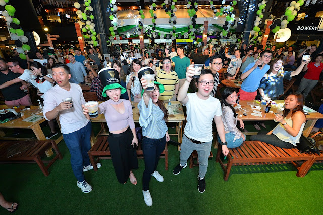 crowd guinness malaysia st patrick's 2017