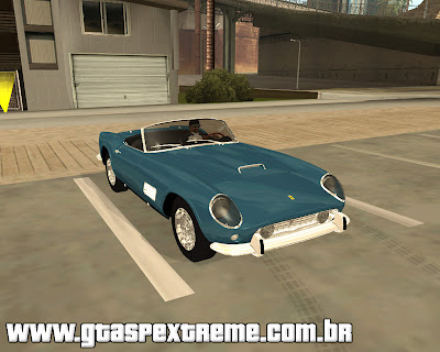 Ferrari 250 California 1957 para grand theft auto