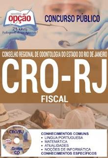 Apostila CRORJ - Conselho Regional de Odontologia do Rj 2016