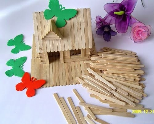 craft ideas using ice cream sticks | kootation.blogspot.com