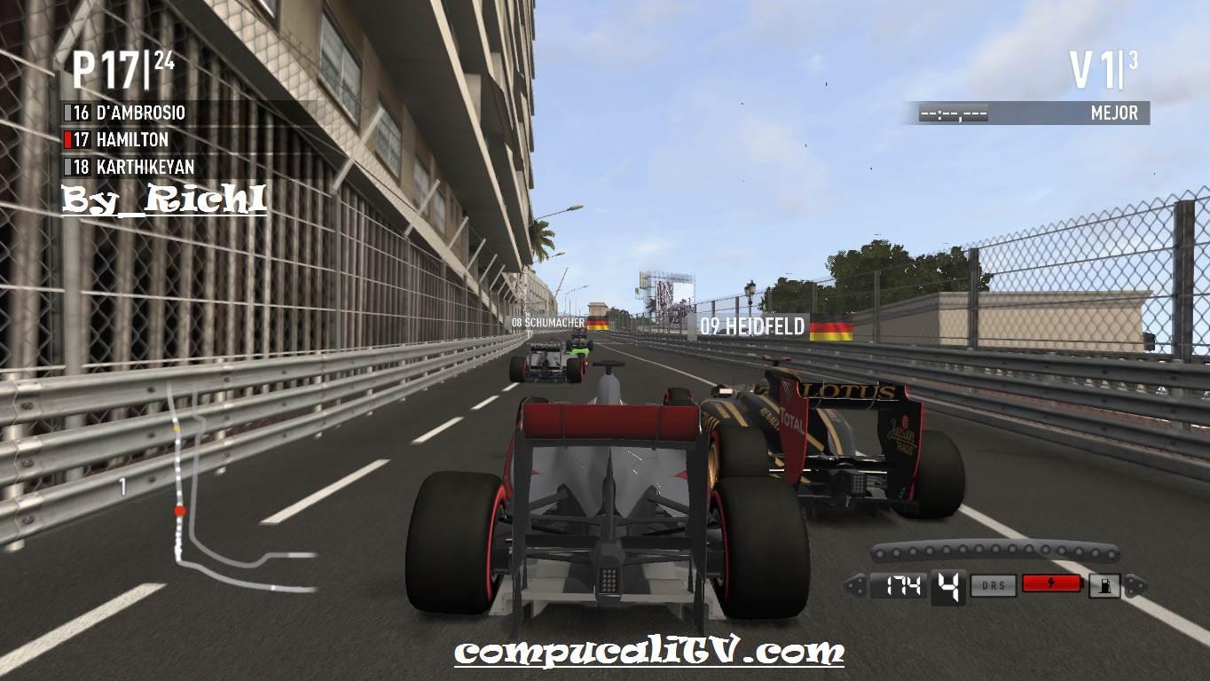 Capturas Propias By Richi Formula 1 2011