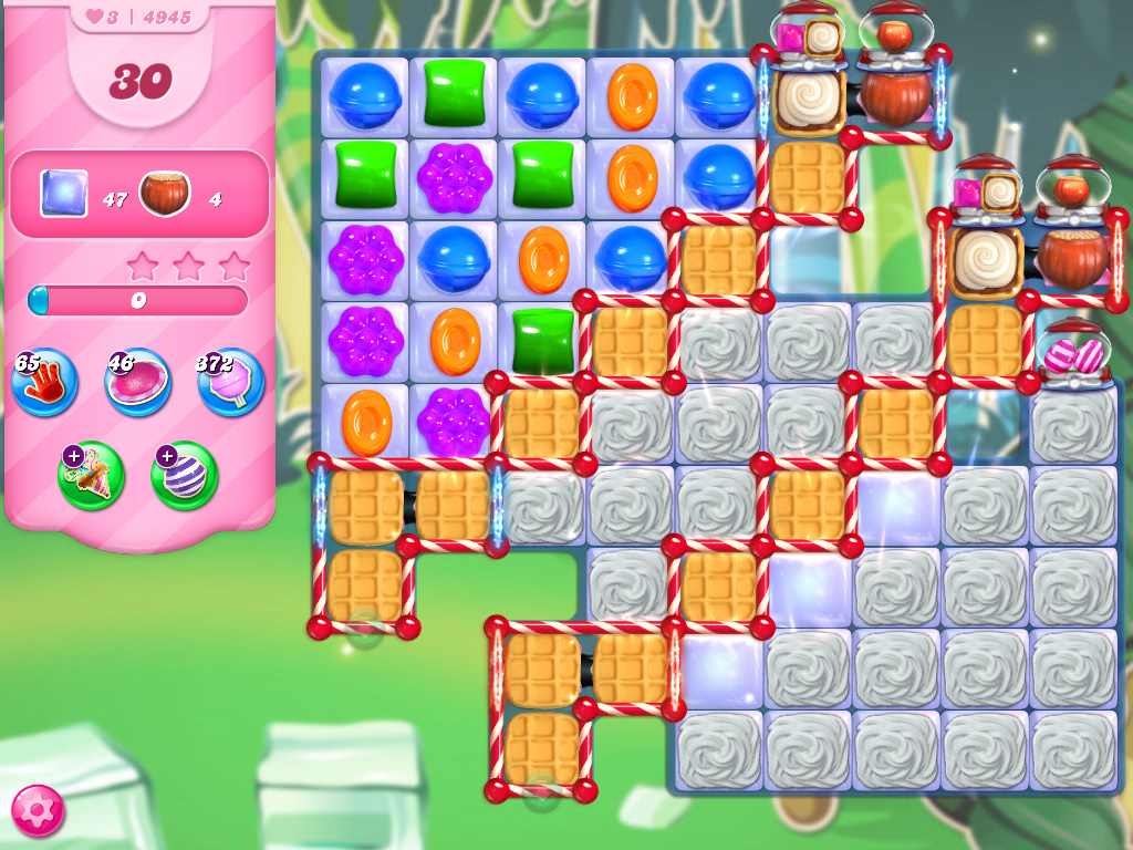 Candy Crush Saga level 4945