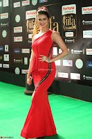 Meenakshi Dixit in Red One Shoulder Red Zipped up gown at IIFA Utsavam Award 81.JPG
