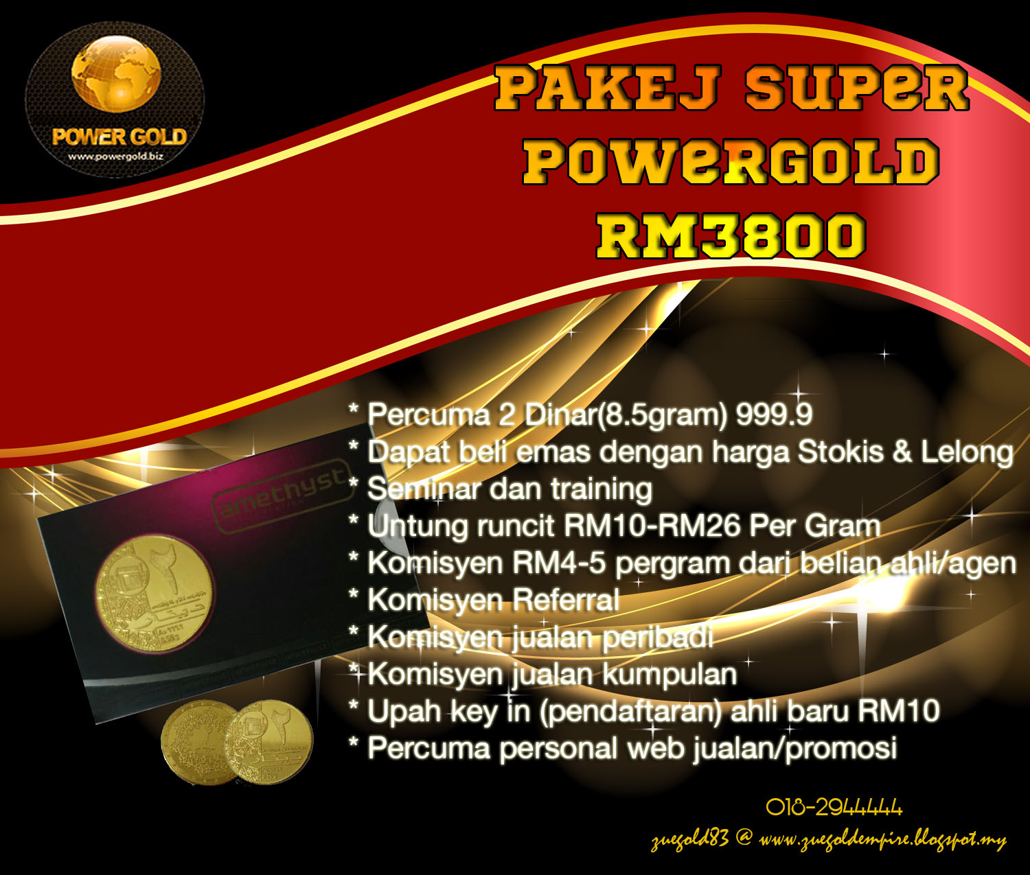 Powergold key generator