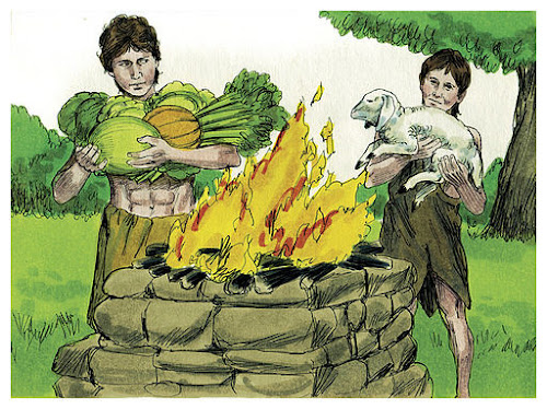 Offerings of Cain and Abel