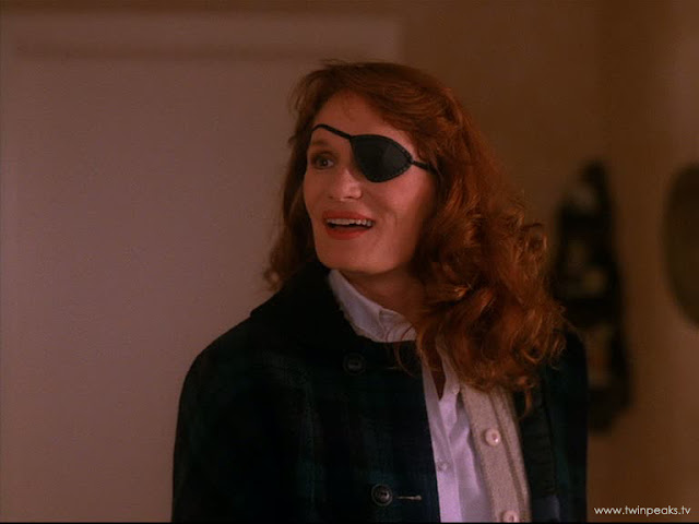 Twinpeaks Tv Did You Notice Figurine With Eyepatch