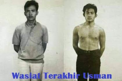 Wasiat Terakhir Usman Dan Harun Sebelum Dieksekusi Singapura
