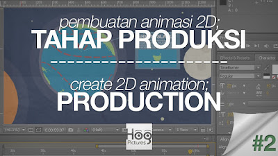 Cara Membuat Animasi 2D Sederhana, Tahap Produksi Pembuatan Animasi 2D - Hog Pictures