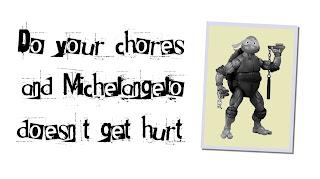 Ninja Turtle Ransom Note
