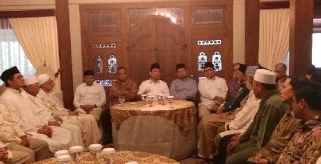 Prabowo Kumpulkan Ulama Sebelum Umumkan Cagub Jabar