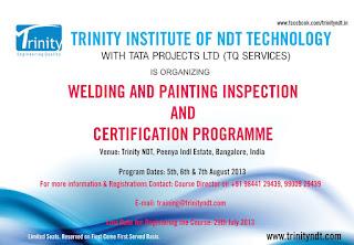 Welder Certification - Certified Welding Inspector Course
