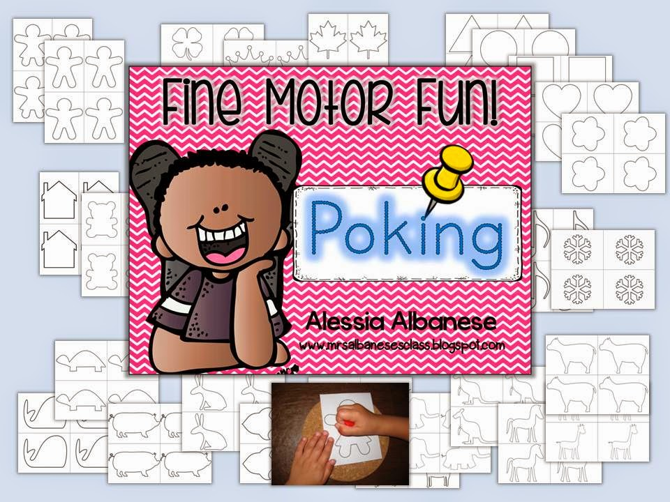 http://www.teacherspayteachers.com/Product/Poking-Fine-Motor-Fun-1338255