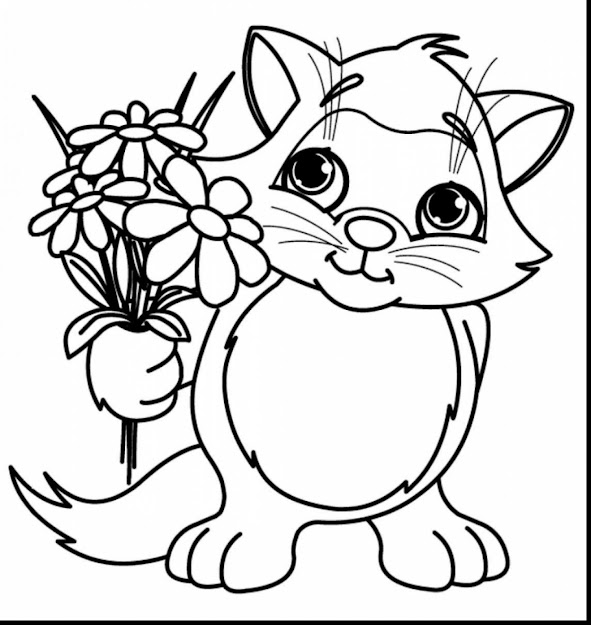 Outstanding Spring Flower Coloring Pages With Printable Flower Coloring  Pages And Printable Flower Bouquet Coloring Pages