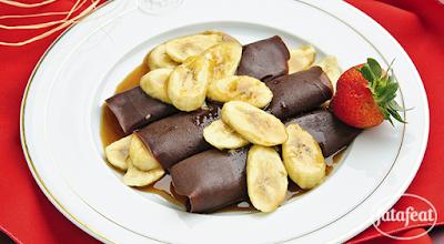 طريقة عمل كريب الشوكولاتة من مطبخ فتافيت