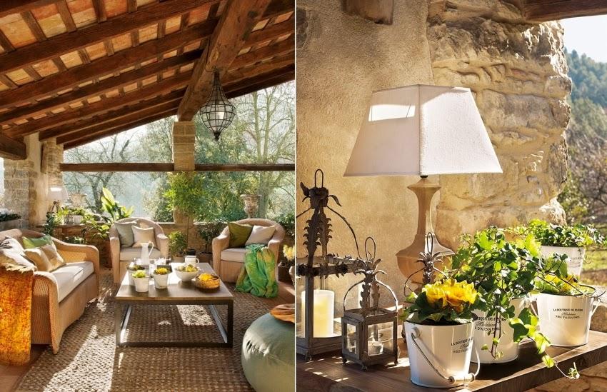 Hiszpański dworek z kamiennymi ścianami, wystrój wnętrz, wnętrza, urządzanie domu, dekoracje wnętrz, aranżacja wnętrz, inspiracje wnętrz,interior design , dom i wnętrze, aranżacja mieszkania, modne wnętrza, styl klasyczny, styl rustykalny, styl francuski