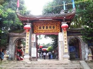 Đền thờ ông Bảy Bảo Hà - Du lịch Minh Anh