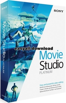 MAGIX Movie Studio Platinum 13.0 Build 981[Full Keygen] โปรแกรมตัดต่อวิดีโอคุณภาพสูง
