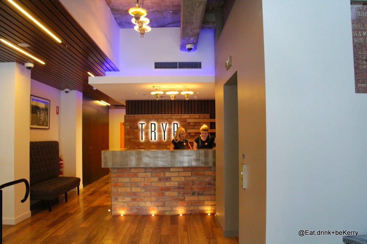Foyer, TRYP Brisbane