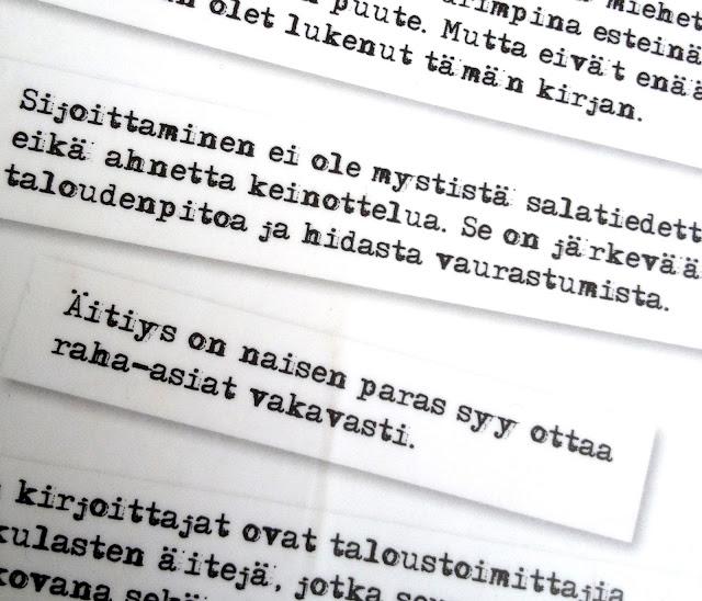 kirja, teksti