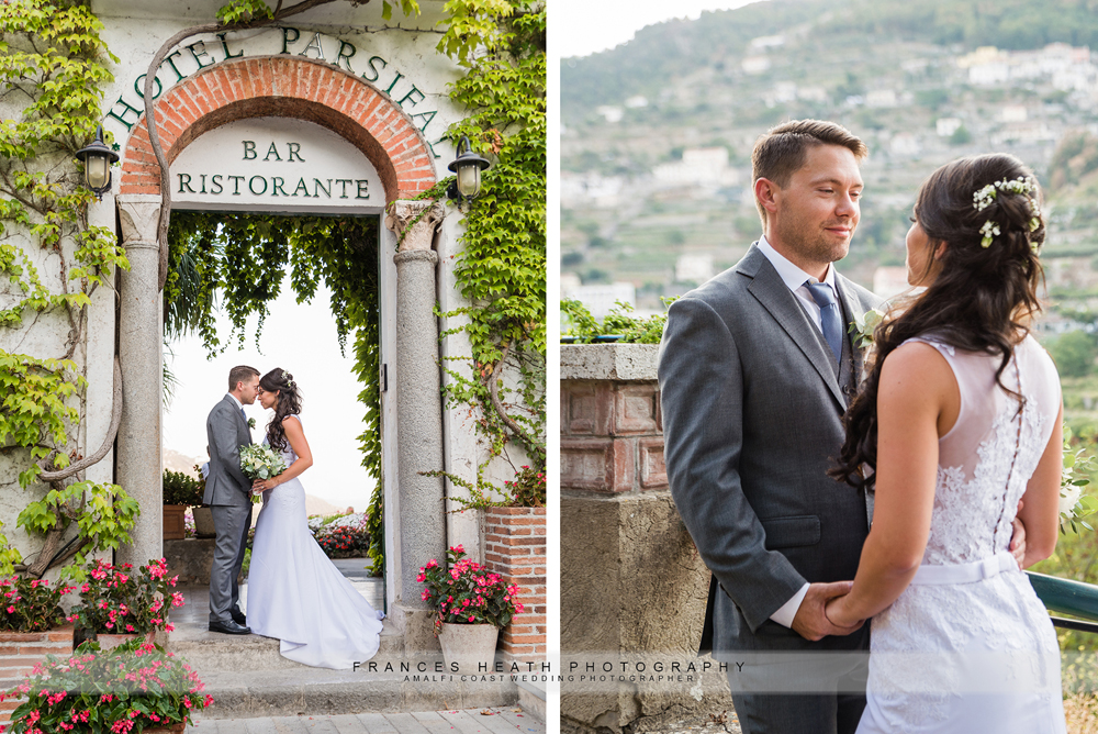 Ravello wedding celebration