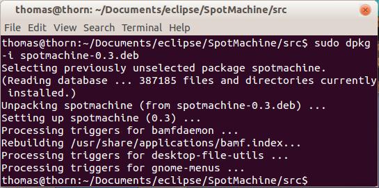 find gedit linux open file pipeline