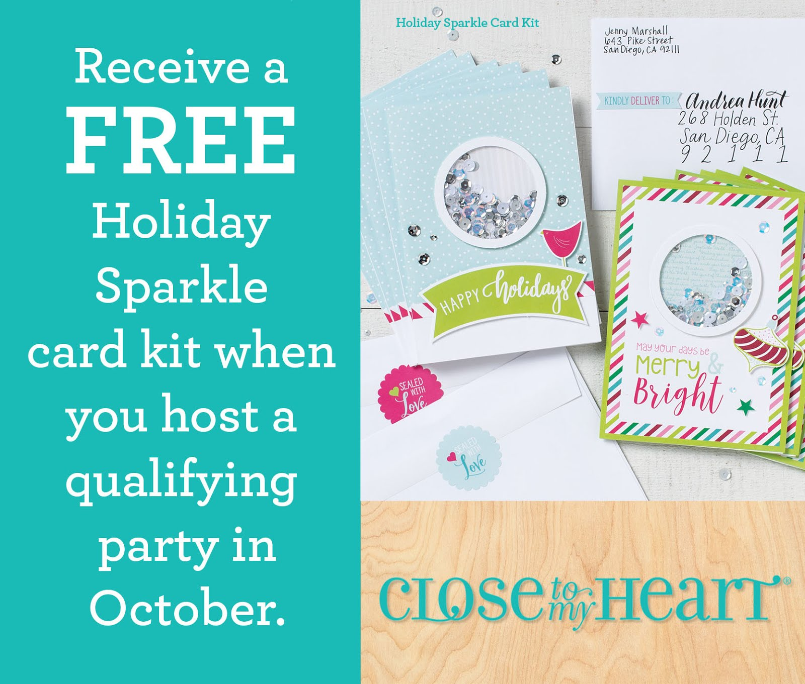 Host a party in October!