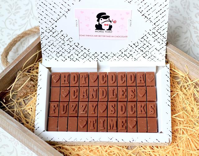Best UK Travel Lifestyle Blogger Aberdeen Personalised Chocolate Gift