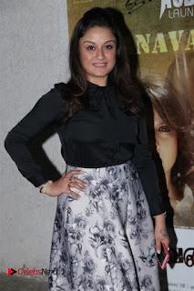 Actress Sonia Agarwal Stills in Black Top at Yevanavan Tamil Movie Audio Launch Event  0003.jpg