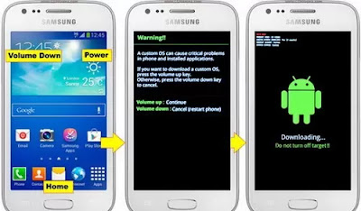 Cara Flash Hp Android Samsung galaxy Ace 3 Via ODIN