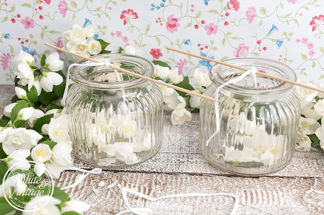 natürliche Duftkerzen im Glas selber machen