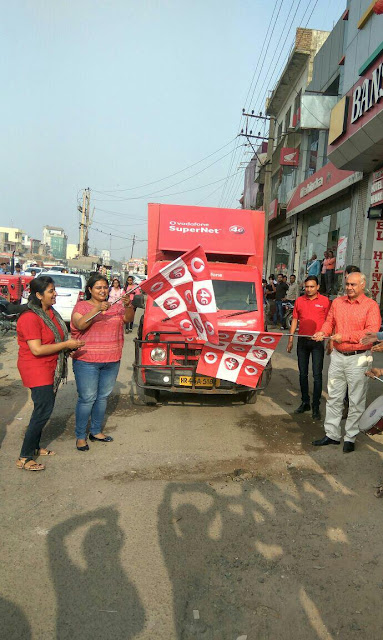 VODAFONE SuperNetTM 4G ON SUPERIOR 1800 MHZ LAUNCHED IN PALWAL