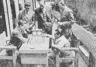 Partida de ajedrez De Agustín - Gómez de la Semifinal del Campeonato de España de 1942