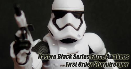 Star Wars Black Series - The Force Awakens Stormtrooper figura bemutató