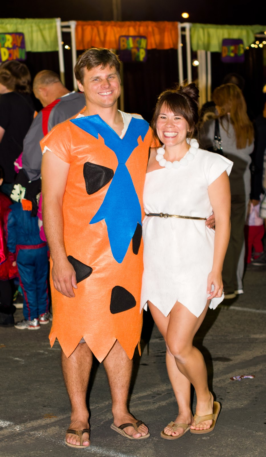 Domestic Fashionista Fred And Wilma Flintstone--Couples -3148