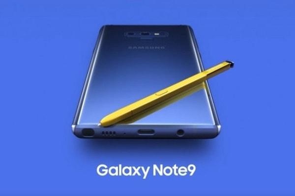 سامسونج تضيف ميزة البلوتوث لقلم S Pen من Galaxy Note 9