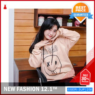 SUP1258T25 The Bad Swaeter Hodie Fleece Wanita BMGShop