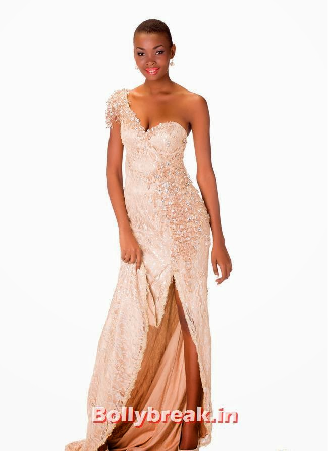 Miss Tanzania, Miss Universe 2013 Evening Gowns Pics