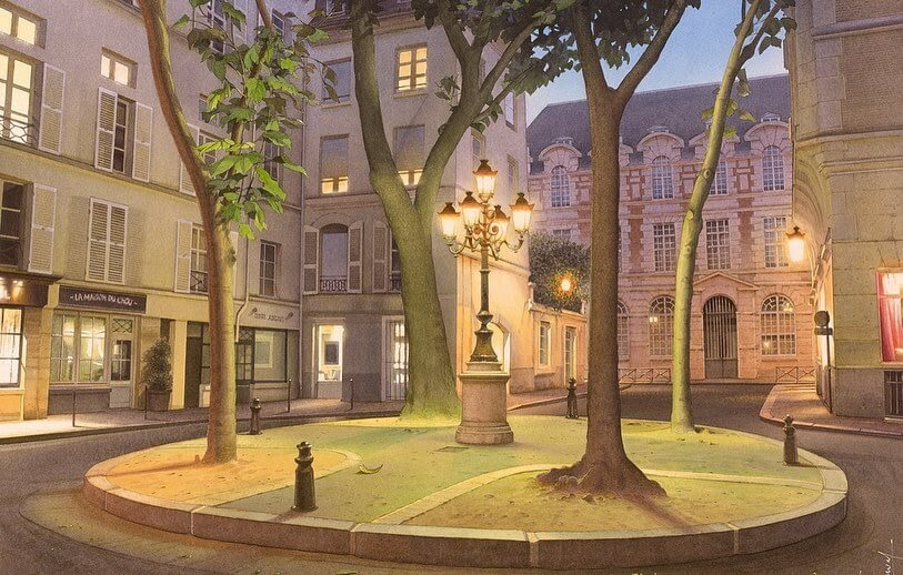 04-Parisian-Nighttime-View-04-Thierry-Duval-www-designstack-co