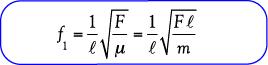 Rumus Frekuensi Nada atas pertama/ harmoni kedua pada dawai