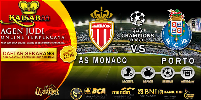 PREDIKSI BOLA TEBAK SKOR JITU LIGA CHAMPIONS LEAGUE AS MONACO VS PORTO 27 SEPTEMBER 2017