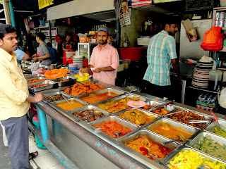 Although there is a lot of indian influence, there is also lot of western street food