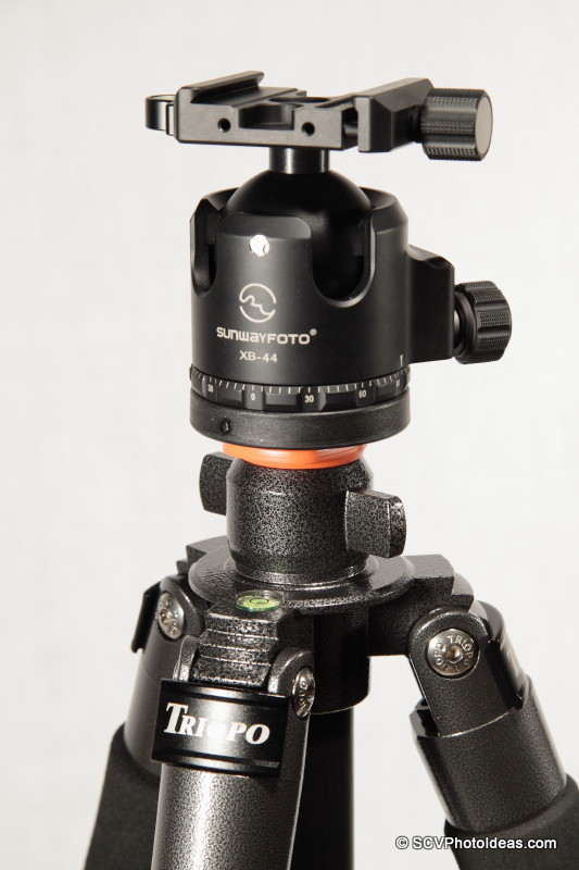 Triopo GX-1328 w/ Sunwayfoto XB-44 LP Ball Head