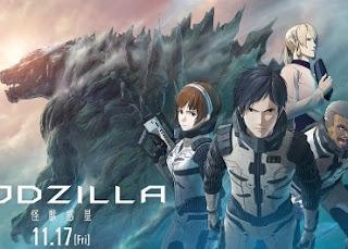 فيلم الانمي Godzilla: Kaijuu Wakusei مترجم بلوري عدة روابط