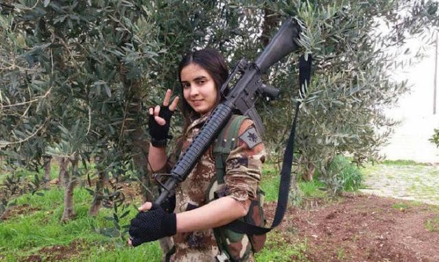 Εκατοντάδες μαχητές συρρέουν στο Αφρίν για να πολεμήσουν κατά των Τούρκων…