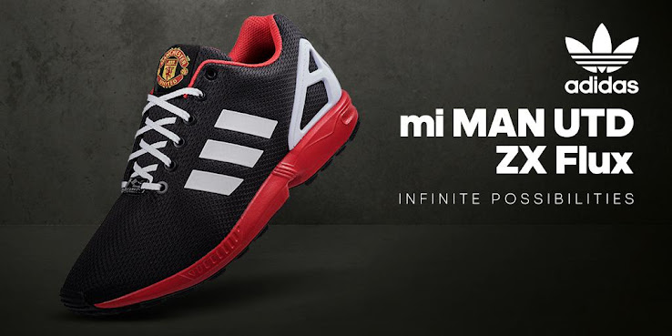 79a5114cd Useless  Adidas mi Manchester United ZX Flux Shoes Released - Footy ...