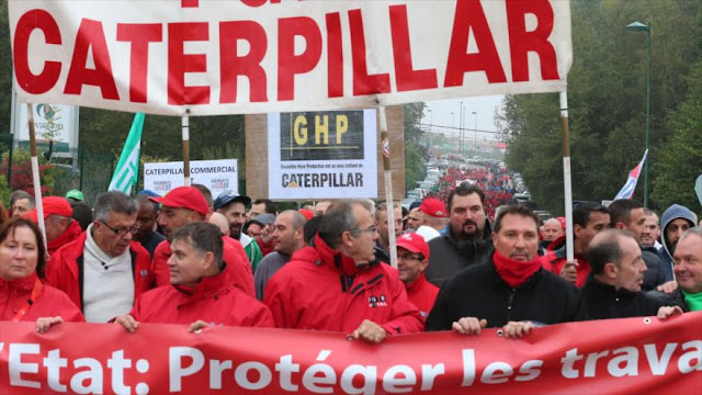 La huelga general paraliza los transportes públicos de Bélgica