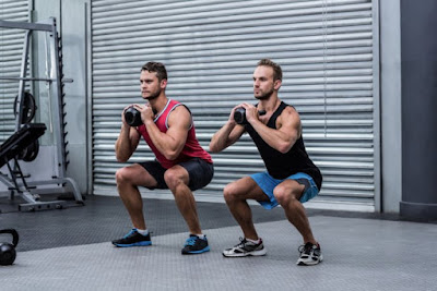 Tension squat (tension squat)