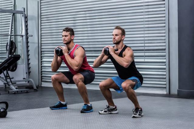 Tension squat (tension squat)