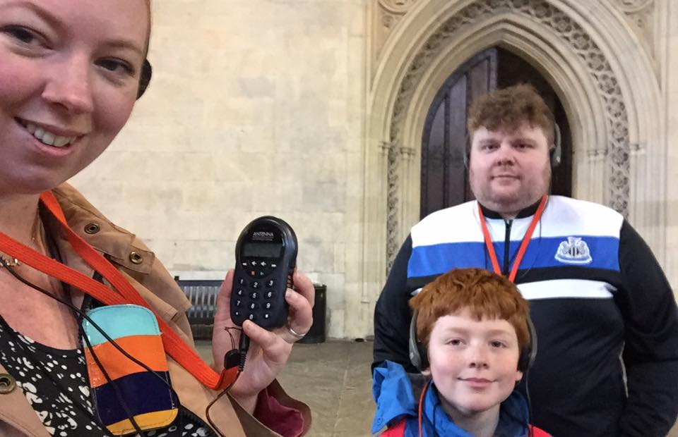 The Houses of Parliament Audio Tour for kids, A Review - children's audio tour