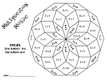 Christmas Multiplication Coloring Worksheets 5th Grade
